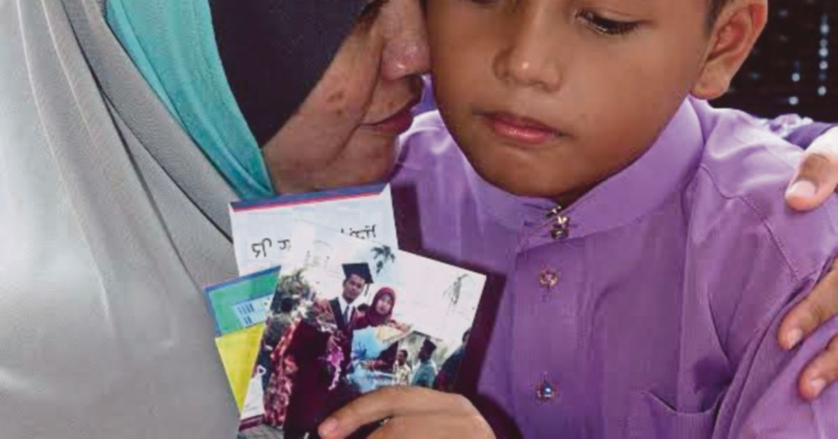 Orphan's second Raya without family
