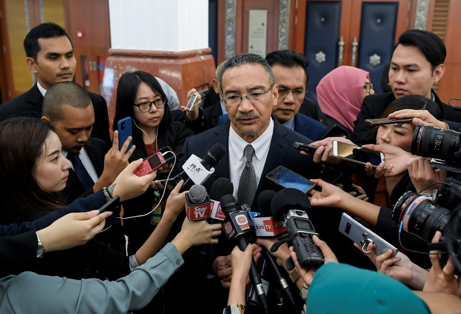 Sembrong MP Datuk Seri Hishammuddin Hussein denied claims that he had planned and led the meeting. - Bernama