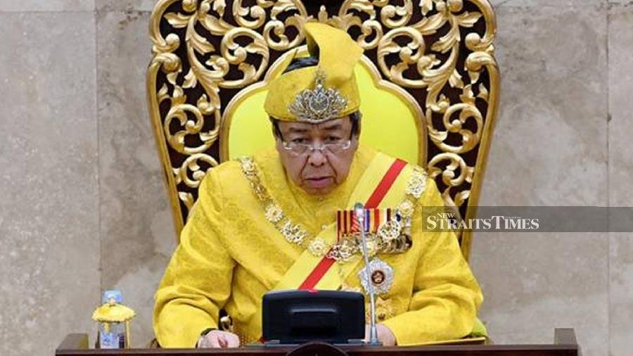 The Sultan of Selangor, Sultan Sharafuddin Idris Shah has given consent for the Selangor State Legislative Assembly to convene on Aug 23. - NSTP file pic.