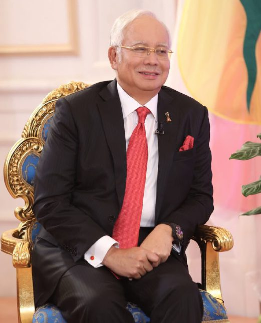 Prime Minister Datuk Seri Najib Razak says the non-Muslims must understand that the amendment of the Syariah Courts (Criminal Jurisdiction) Act 1965 (Act 355) is not about introducing hudud, but merely aims to increase the power of the Syariah court. Pix by EFFENDY RASHID.
