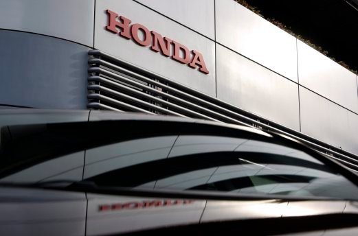 The Honda Logo Is Seen At Car Maker Headquarters Building In Tokyo Japan Motor Co And Takata Corp Have Been Sued United States US Over