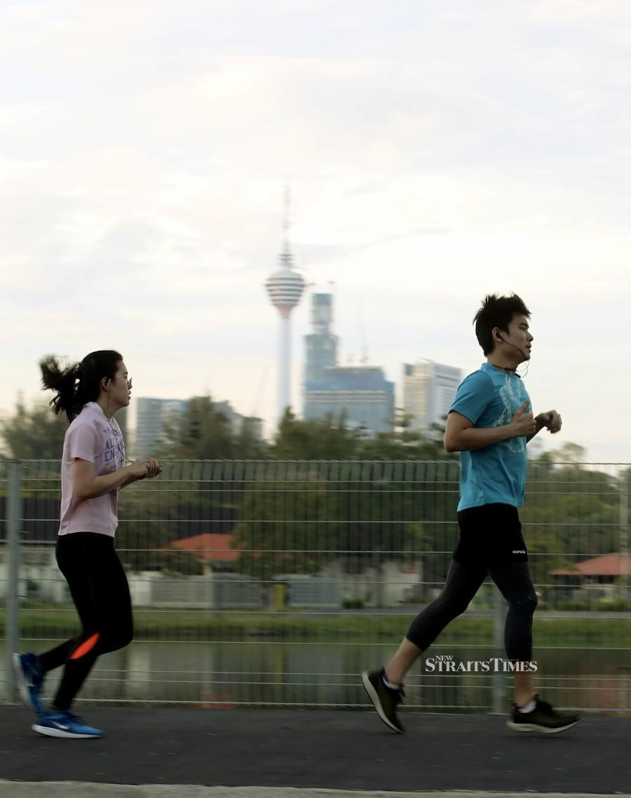 Public can exercise but there are still some protocols to be followed