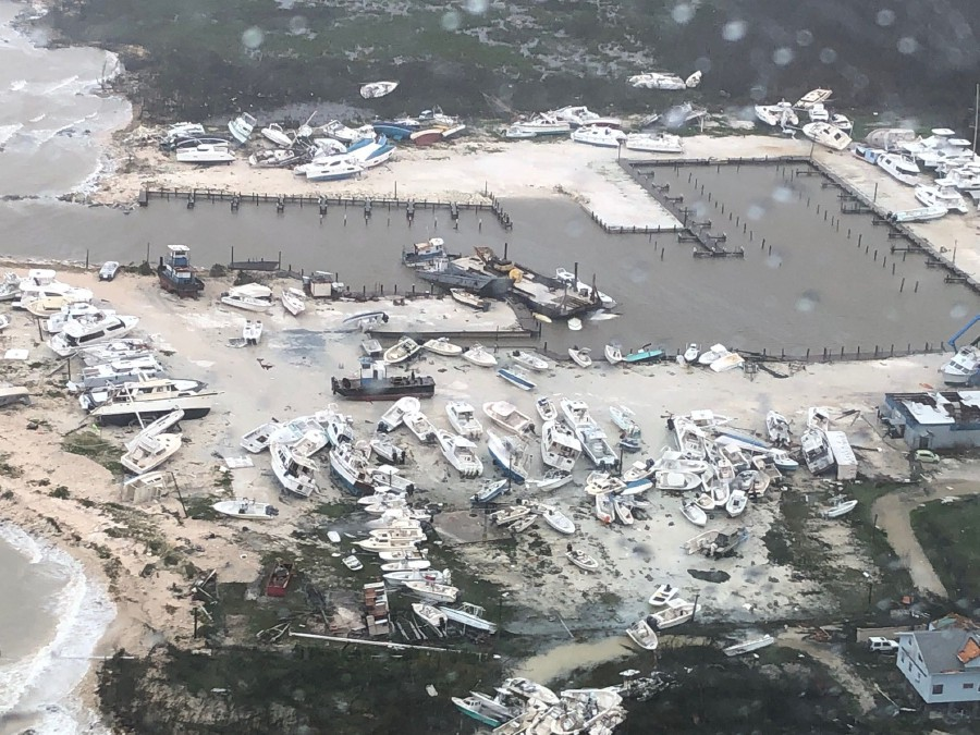 Bahamas searches for survivors after battering by Hurricane
