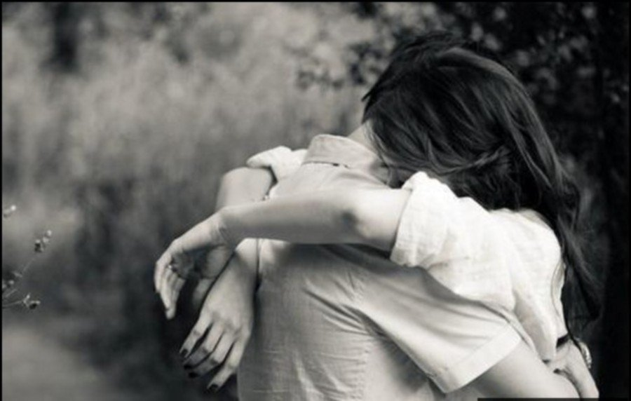 Male And Female Hugging Photos