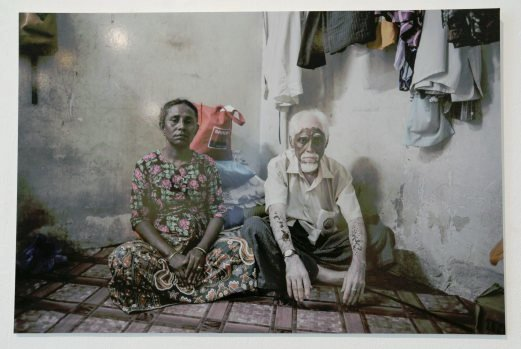 (File pix) Among the images by Mohd Rasfan at Odysseys Photographic exhibition at the White Box Publika. Pix by Zunnur Al Shafiq