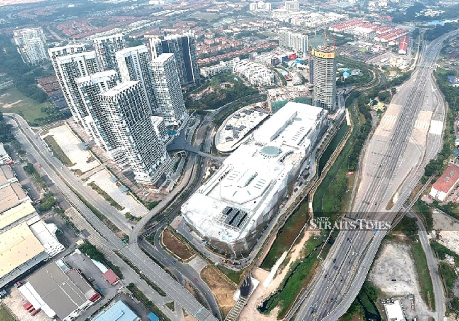 The i-City development in Selangor's capital city has remaining 60 per cent of gross floor area (GFA) that has yet to be developed. File Photo