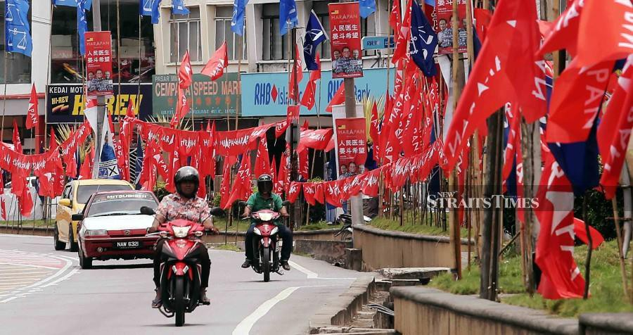 Several states under Pakatan Harapan may lose control of its respective state governments. -NSTP/File pic
