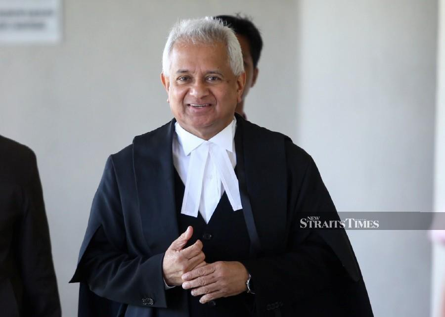 Attorney-General (AG) Tommy Thomas has resigned, according to report. - NSTP/File pic