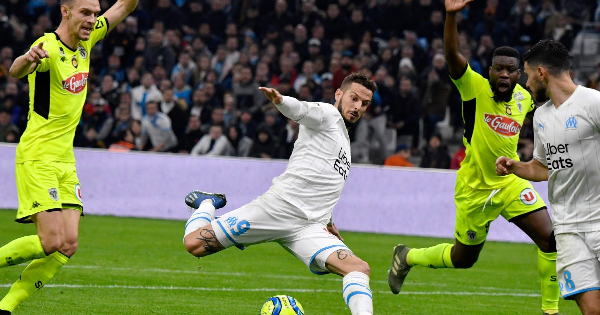 Marseille's slim title hopes hit by Angers stalemate