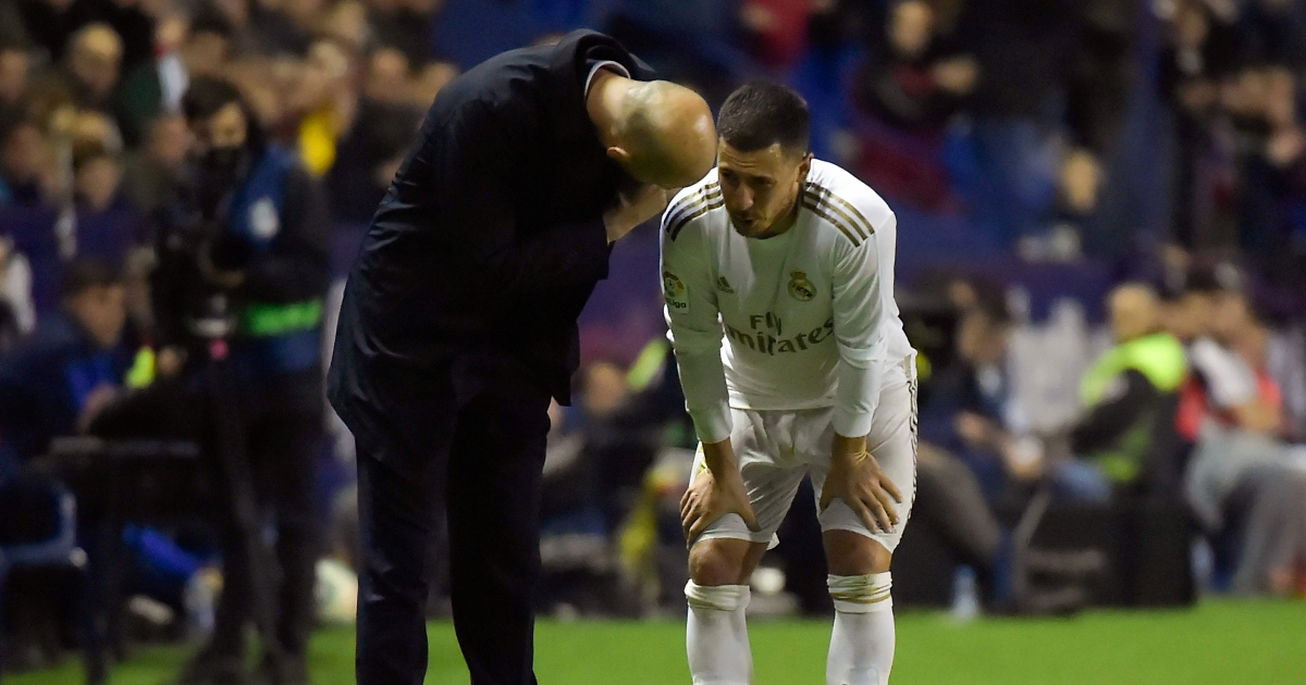 Real's Hazard suffers right ankle fracture ahead of City clash