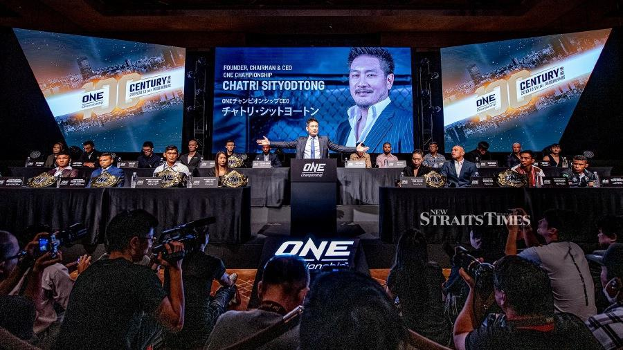 ONE Championship CEO and founder Chatri Sityodtong ushered in a historic milestone at ONE Century in Japan.