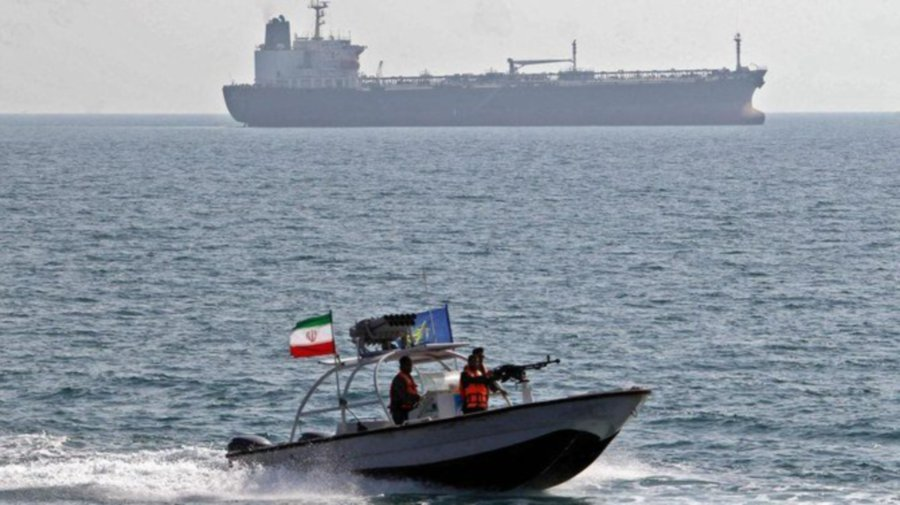 Iranian authorities have seized a ship suspected of fuel-smuggling and arrested 16 Malaysian crew members. - AFP/File pic. (Image shown is for illustration purposes only).