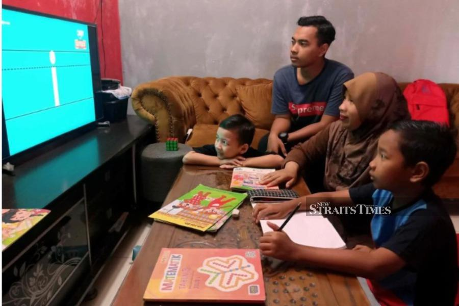 During the MCO, open and distance learning (ODL) has become a big part of parents' lives. - NSTP/File pic