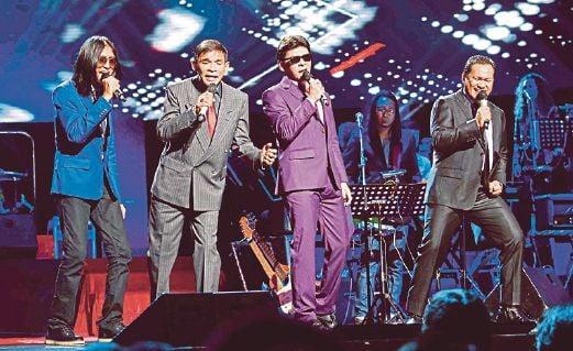 A Trinity Of Pop Kings Brings The House Down At Konsert 3 Suara