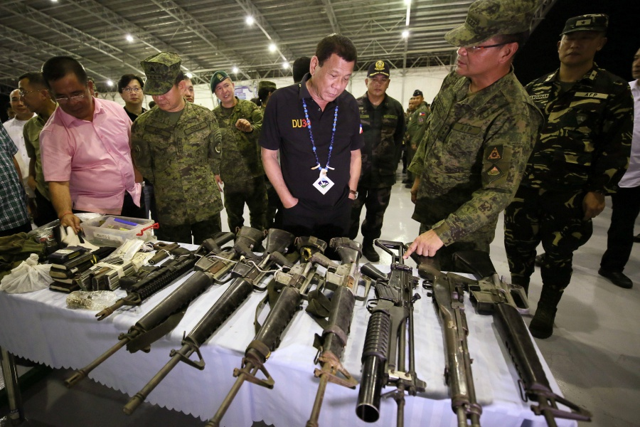 Image result for Philippines' Duterte faces martial law legal challenge, Philippine