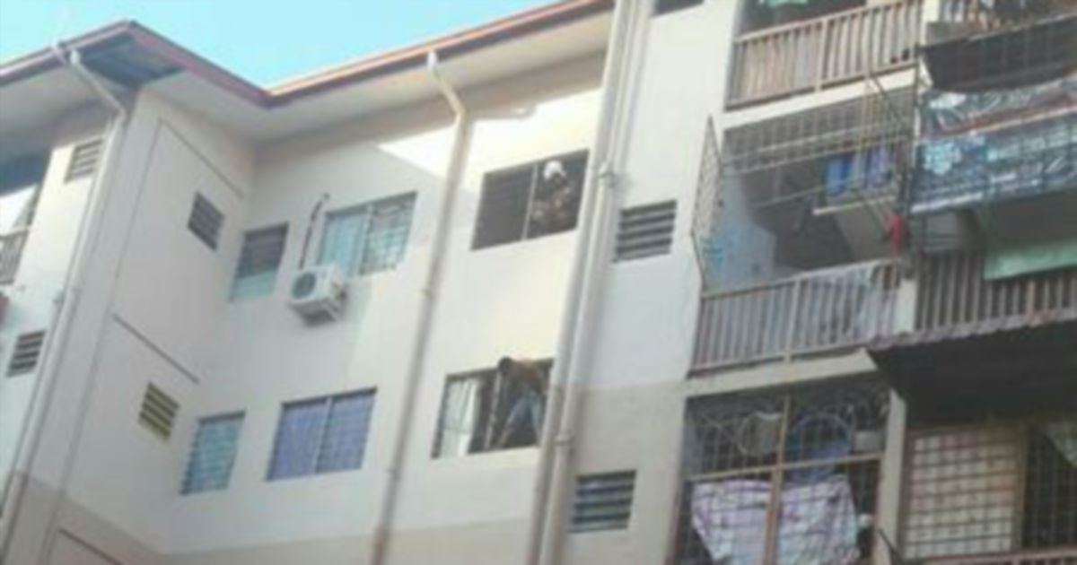 Suicidal Sabah Man Grabbed From Apartment Window Moments Before Jumping New Straits Times Malaysia General Business Sports And Lifestyle News