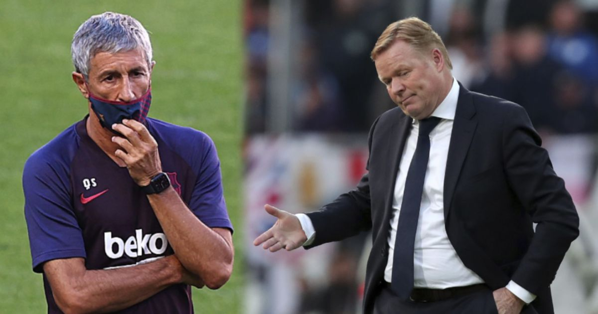 Why Xavi refused to replace Setien as Barcelona manager