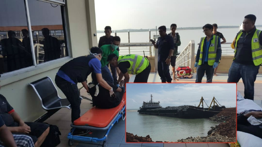 Image result for MV Amanda sinking off Malaysia