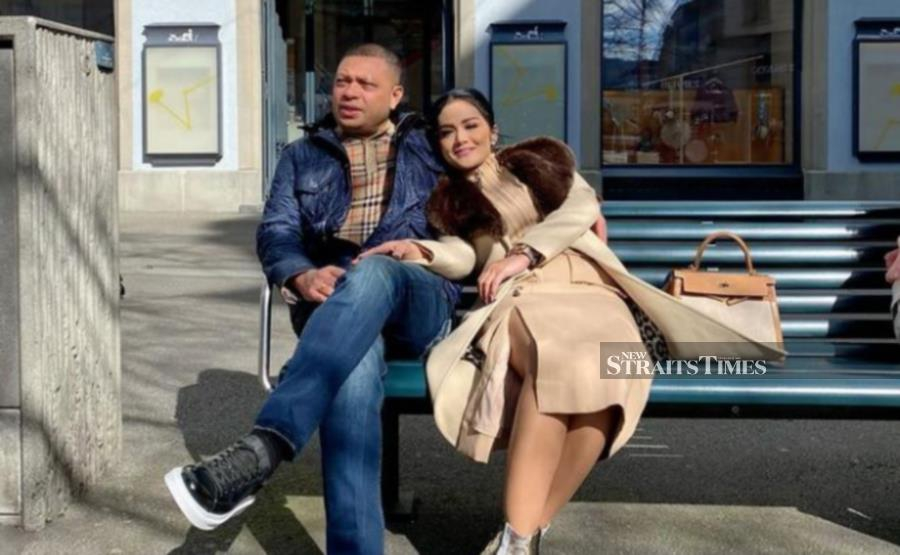 Krisdayanti and Lemos in Zurich