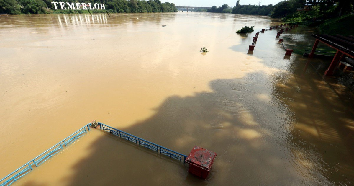 Temerloh, second district in Pahang to be hit by floods