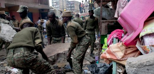 Seven dead after 'out of nowhere' flood in Kenya | New