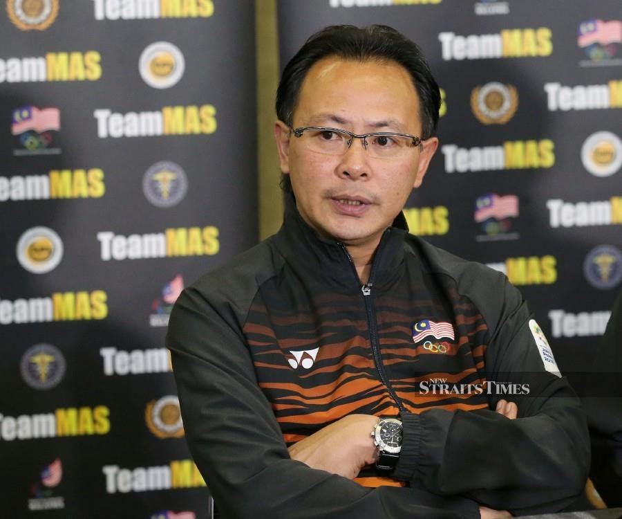 The Football Association of Malaysia (FAM) has confirmed it will not be renewing Datuk Ong Kim Swee's contract as head coach of the national B22 squad. (Pic by OWEE AH CHUN)