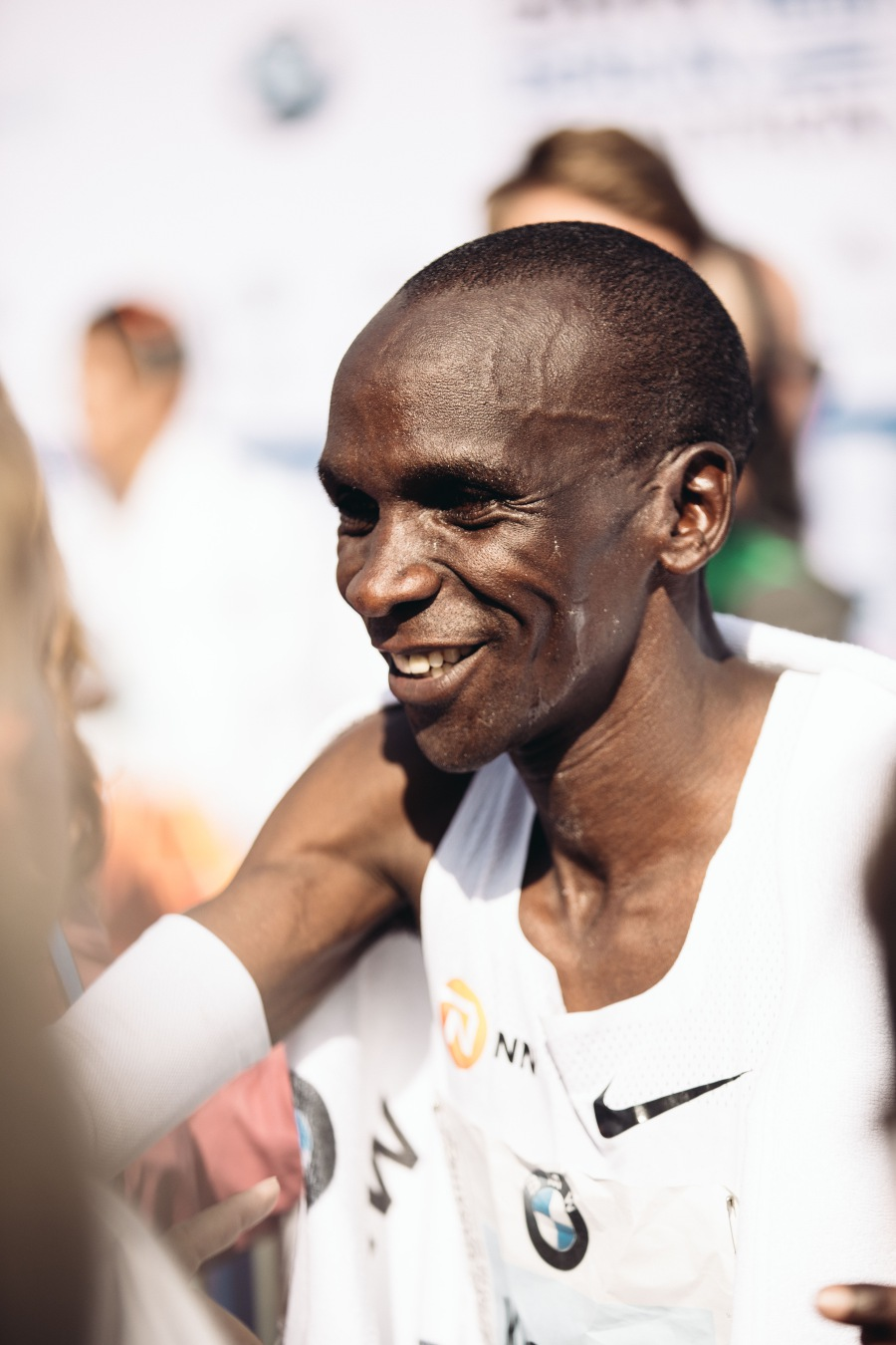 c3c8a4446f7be Kipchoge broke the four-year old world record at the Berlin marathon.(Pictures  courtesy of Nike)