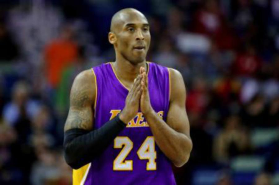 The Los Angeles Lakers says it will retire both numbers (eight and 24) worn  by former player Kobe Bryant. REUTERS 2e42993fe
