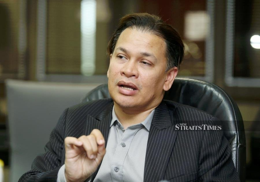 Datuk Norman Abdul Halim denies allegations that he was involved in producing the gay sex video purportedly of Santubong AMK chief Haziq Abdullah Abdul Aziz and someone said to resemble Economics Affairs Minister Datuk Seri Mohamed Azmin Ali. (NSTP/ ZULFADHLI ZULKIFLI)