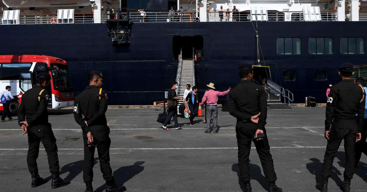 Scramble to track Cambodia ship passengers after Malaysia Covid-19 case