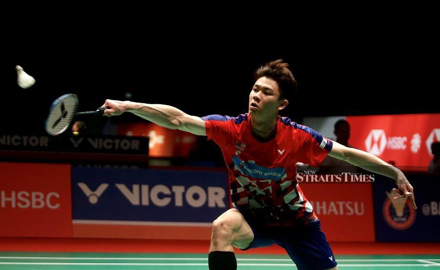 Lee Zii Jia was one of the 21 national players who had participated in the All England open in Birmingham. - NSTP/File pic