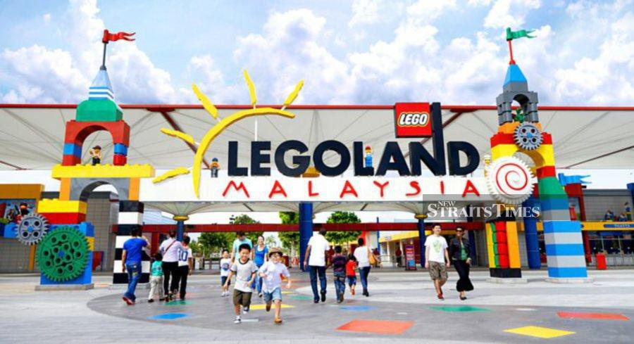 Malaysian sovereign wealth fund Khazanah is considering selling Asia's first Legoland, Bloomberg News reported, after the investment vehicle Monday reported weak results for last year. (NSTP Archive)