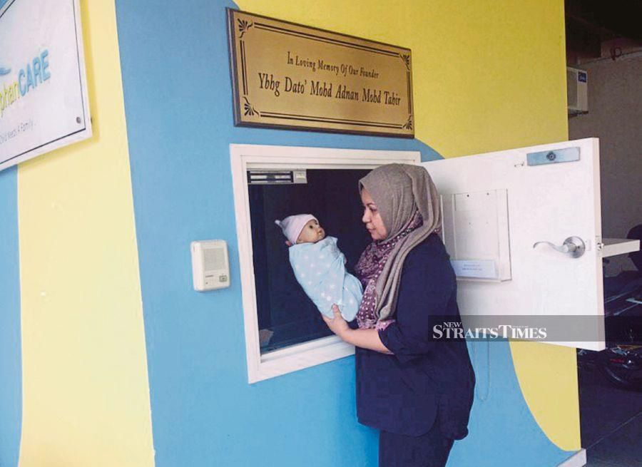 (File pic) There is also the question of effectiveness of baby hatches and proposals to increase legal literacy among teenagers making sure that they know the serious consequences of baby dumping.