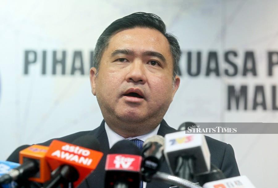 (File pic) Anthony Loke added that Malaysia must continue to support and contribute to developing nations. (NSTP/MOHD FADLI HAMZAH)