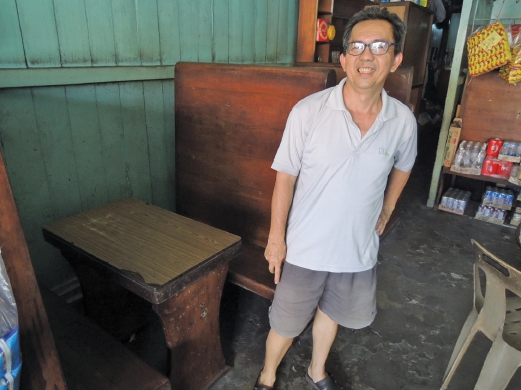 Hoe Peng is worried about the continuity of his business. Pictures by Alan Teh Leam Seng