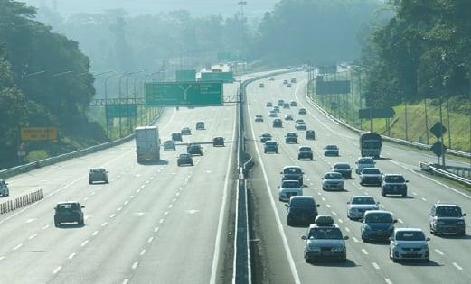 Smooth Traffic On Plus Highway Lpt