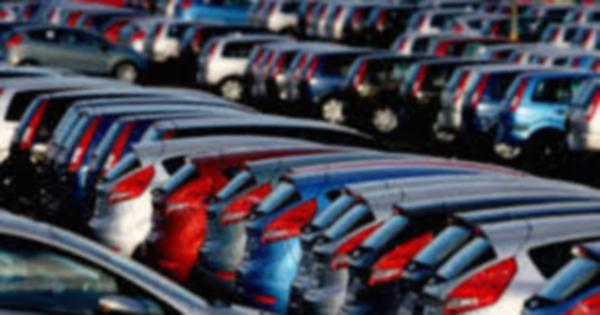 New vehicles sales in January were 92 units lower