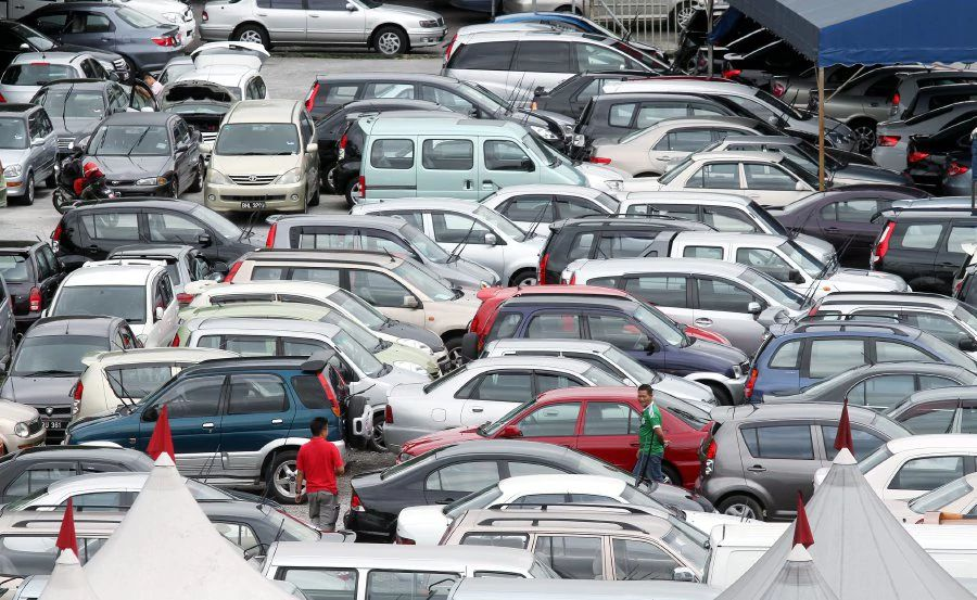 (File pix) The Malaysian Automotive Association (MAA) says the lower sales volume recorded for the month was due to short working month due to Chinese New Year festive holidays.