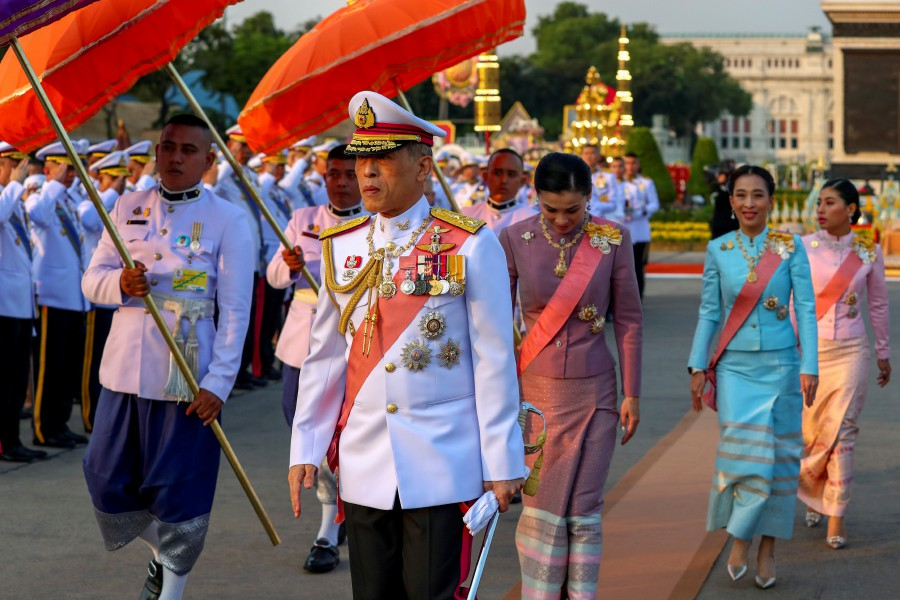 Thailand's King Maha Vajiralongkorn sacks six officials over 'extremely evil' conduct
