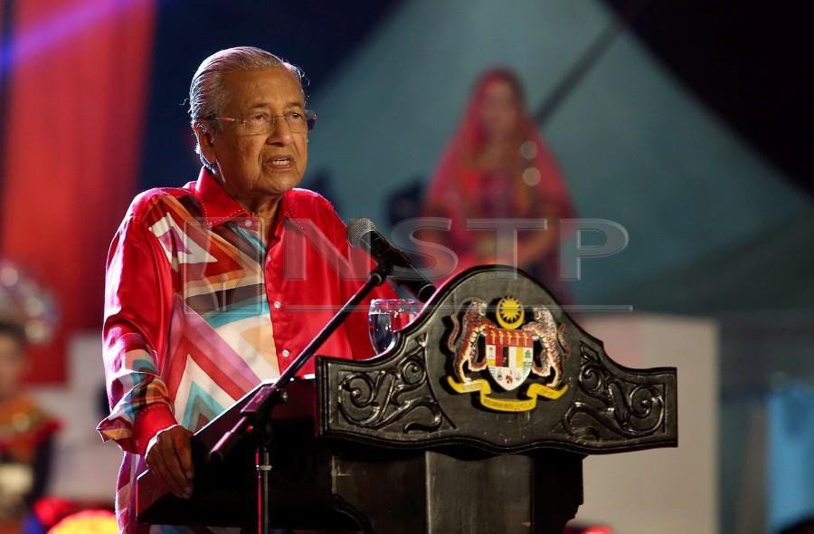 Prime Minister Tun Dr Mahathir Mohamad is expected to clear the air over his statement recently that Pas will not be supporting Umno during the campaigning period for the Semenyih by-election. - NSTP/IQMAL HAQIM ROSMAN & HAZREEN MOHAMAD