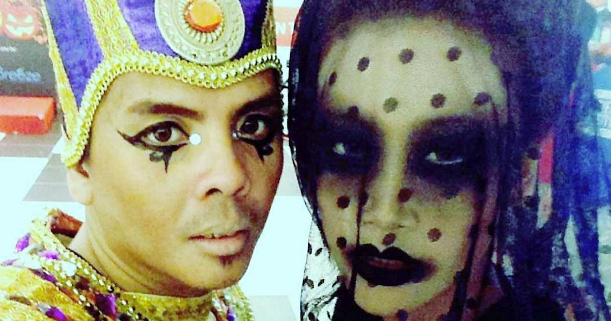 Make-up artist has the time of his life during Halloween