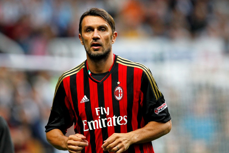 Paolo Maldini and his 18-year-old son Daniel, a youth team player, had been in self-isolation at home for two weeks. FILE PIC