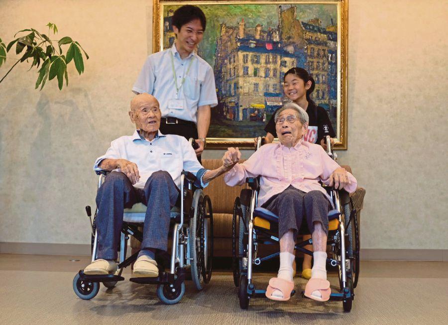 most old couple 2018 japan зурган илэрцүүд