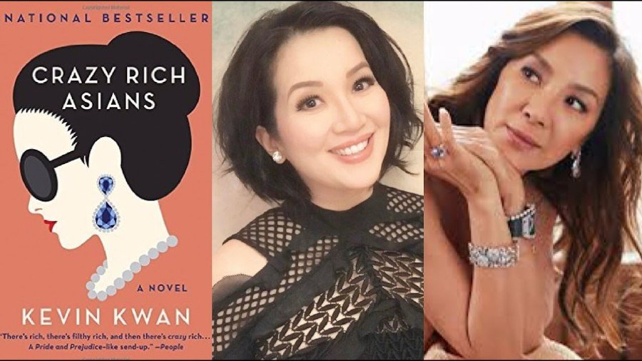 Crazy Rich Asians Gets a Release Date & First Look EW Cover
