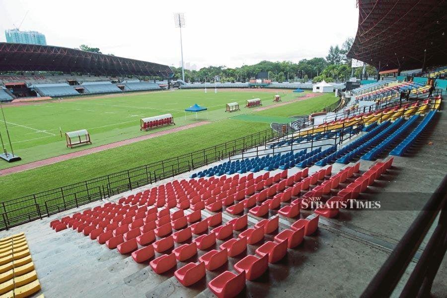 Petaling Jaya Stadium. NSTP PIC