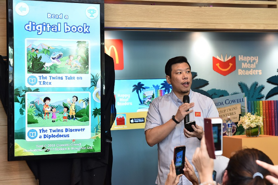 Kids Get Free Books With Their Meals New Straits Times
