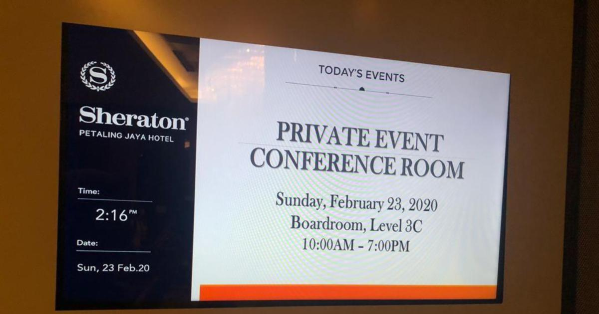 Image result for meeting 23 feb 2020 sheraton