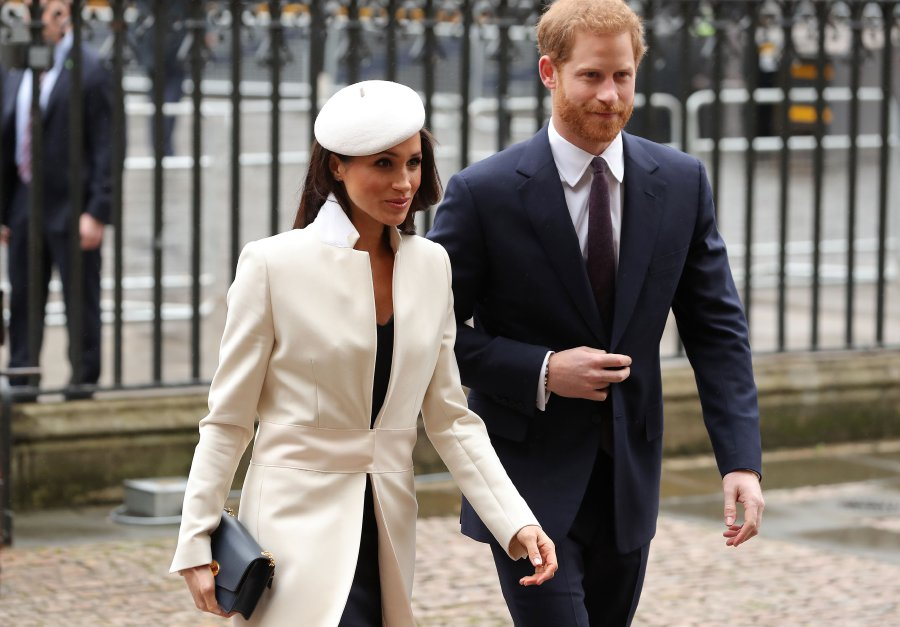Britain's Prince Harry (Right) and his fiancee US actress Meghan Markle attend a Commonwealth Day Service at Westminster Abbey in central London, on March 12, 2018.Britain's Queen Elizabeth II has been the Head of the Commonwealth throughout her reign. Organised by the Royal Commonwealth Society, the Service is the largest annual inter-faith gathering in the United Kingdom. AFP PHOTO