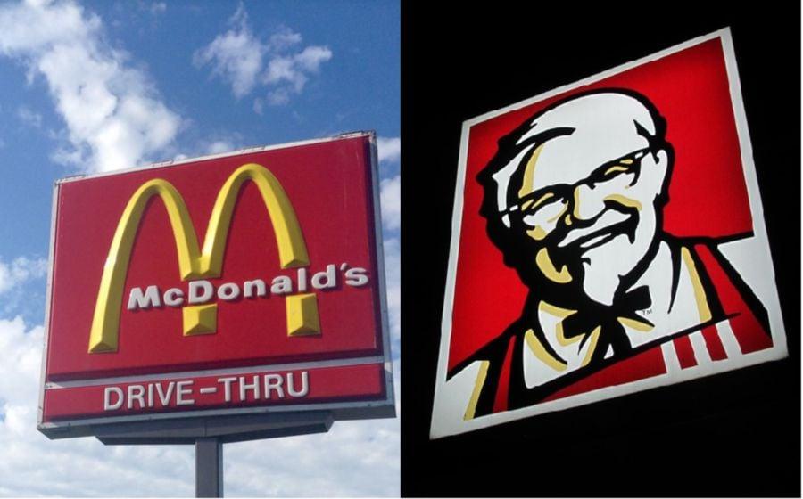 competitive advantage of kfc and mcdonalds
