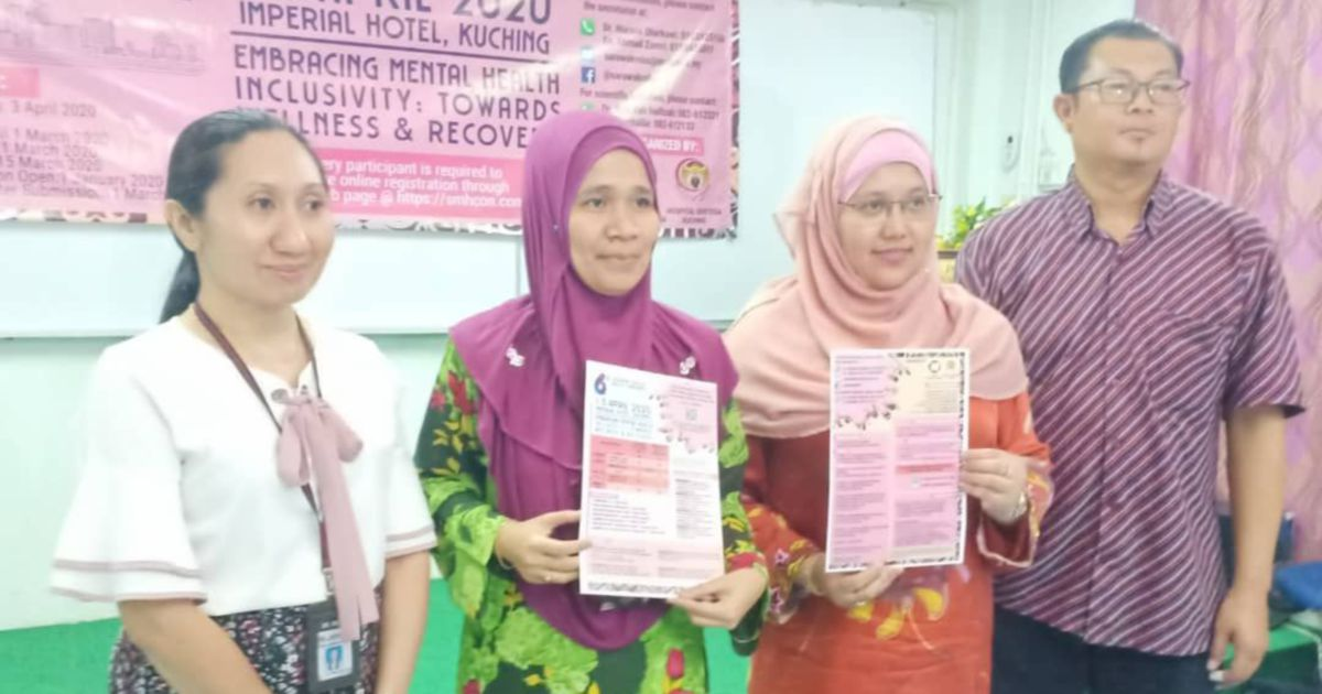 Mental illness cases on the increase in Sarawak